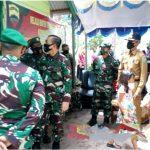 Plt. Camat Bunguran Timur bersama Bupati Natuna mendampingi kunjungan Danrem 033/WP