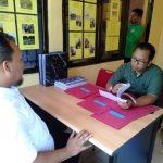 Verifikator Pusat Tinjau Sekretariat FKKS Bunguran Timur